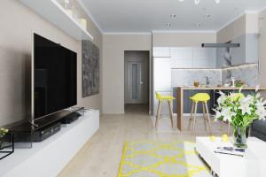 Дизайн интерьера Дизайн в 2-х квартире, новострой, ЖК «Парк Холл Горький», фото 15