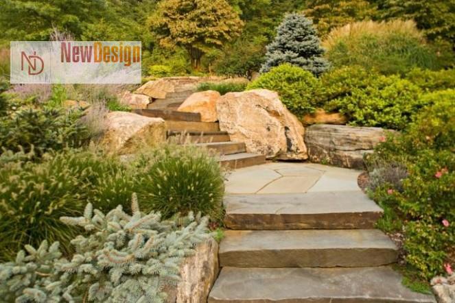 Природный камень для ландшафтного дизайна