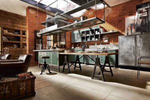 Дизайна интерьера квартиры в стиле лофт - фото 20