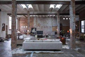 Дизайна интерьера квартиры в стиле лофт - фото 18