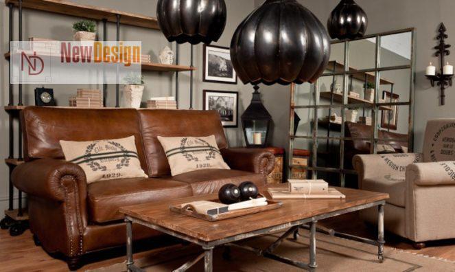 Мебель в стиле лофт - фото 12