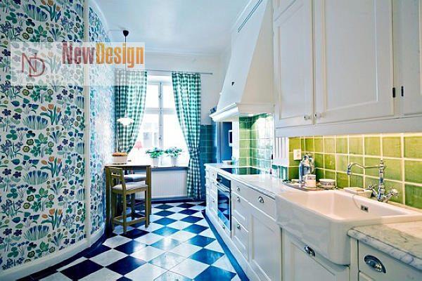 фото кухни в ретро стиле