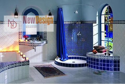 фото ванной в марокканском стиле