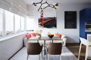 Дизайн интерьера ЖК Ривер стоун 86кв.м, фото 19