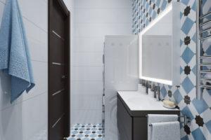 Дизайн интерьера ЖК Ривер стоун 86кв.м, фото 18