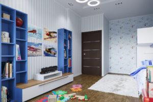Дизайн интерьера ЖК Ривер стоун 86кв.м, фото 3
