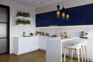Дизайн интерьера ЖК Ривер стоун 86кв.м, фото 21