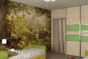 Дизайн интерьера ЖК Садовый, Комбинатная 25, 67 м2, фото 19