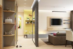 Дизайн интерьера Новострой 76 м2, ЖК Скайленд, фото 11