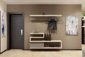 Дизайн интерьера Новострой 76 м2, ЖК Скайленд, фото 31