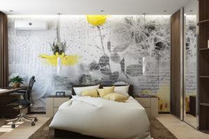 Дизайн интерьера Новострой 76 м2, ЖК Скайленд, фото 36