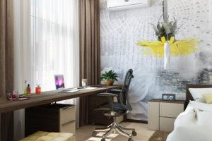 Дизайн интерьера Новострой 76 м2, ЖК Скайленд, фото 40