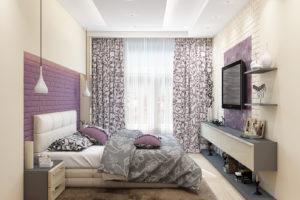 Дизайн интерьера Новострой 76 м2, ЖК Скайленд, фото 56