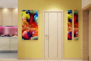 Дизайн интерьера Новострой 76 м2, ЖК Скайленд, фото 9