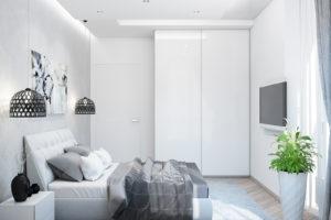 Дизайн интерьера Петропавловская Борщаговка, дизайн двухярусной квартиры, 103 м2, фото 12