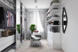 Дизайн интерьера Петропавловская Борщаговка, дизайн двухярусной квартиры, 103 м2, фото 18