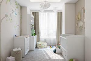 Дизайн интерьера Петропавловская Борщаговка, дизайн двухярусной квартиры, 103 м2, фото 5