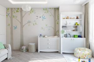 Дизайн интерьера Петропавловская Борщаговка, дизайн двухярусной квартиры, 103 м2, фото 6