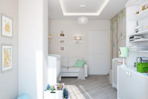 Дизайн интерьера Петропавловская Борщаговка, дизайн двухярусной квартиры, 103 м2, фото 7