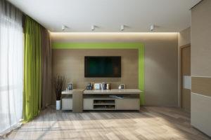 Дизайн интерьера ул. Метрологическая 9-в, новострой 61м2 ,2х ком. кв, фото 14