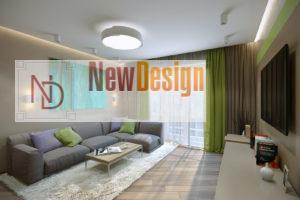 Дизайн интерьера ул. Метрологическая 9-в, новострой 61м2 ,2х ком. кв, фото 17