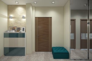 Дизайн интерьера ул. Метрологическая 9-в, новострой 61м2 ,2х ком. кв, фото 2