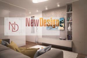 Дизайн интерьера Крюковщина, ЖК Евромисто, 66.8.м2, фото 13
