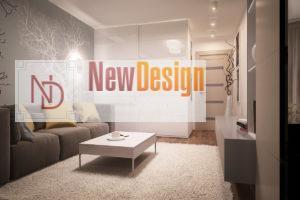 Дизайн интерьера Крюковщина, ЖК Евромисто, 66.8.м2, фото 14