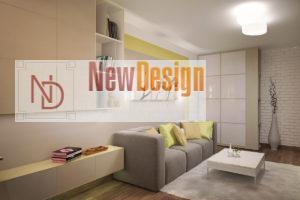 Дизайн интерьера Крюковщина, ЖК Евромисто, 66.8.м2, фото 16