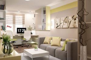 Дизайн интерьера Крюковщина, ЖК Евромисто, 66.8.м2, фото 19
