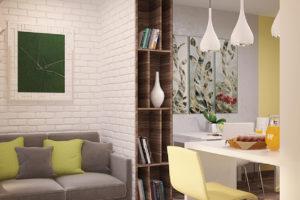 Дизайн интерьера Крюковщина, ЖК Евромисто, 66.8.м2, фото 22
