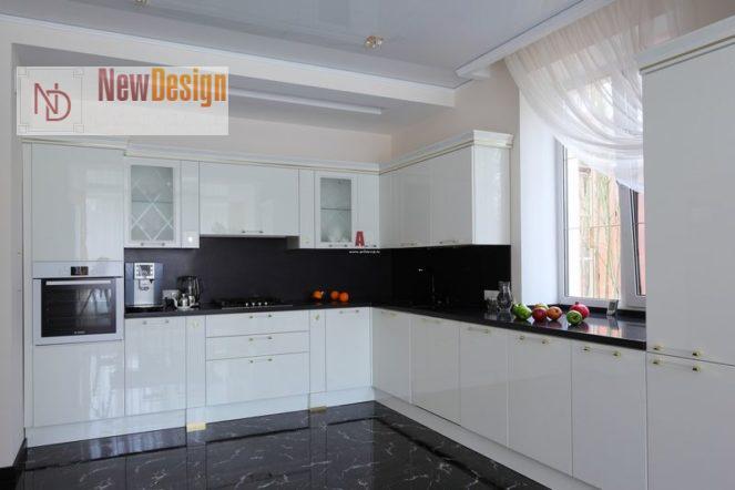 Дизайн белой кухни - фото 11