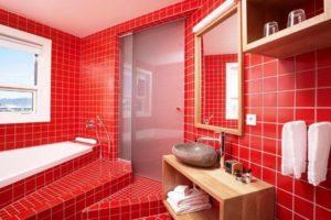 Красный цвет в интерьере - фото 26