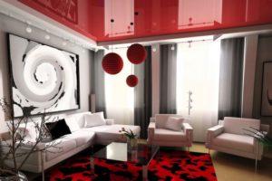 Красный цвет в интерьере - фото 22