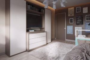 Дизайн интерьера от Newdesign в ЖК Лико Град г. Киев - фото №2