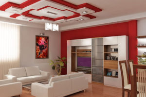 Красный цвет в интерьере - фото 24