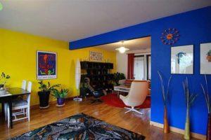 Синий цвет в интерьере - фото 33