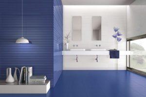 Синий цвет в интерьере - фото 25