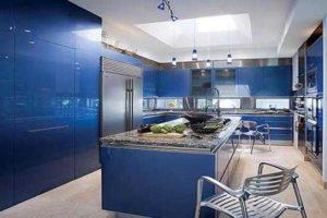 Синий цвет в интерьере - фото 31