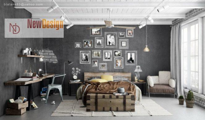 Индустриальный стиль в интерьере - фото 5
