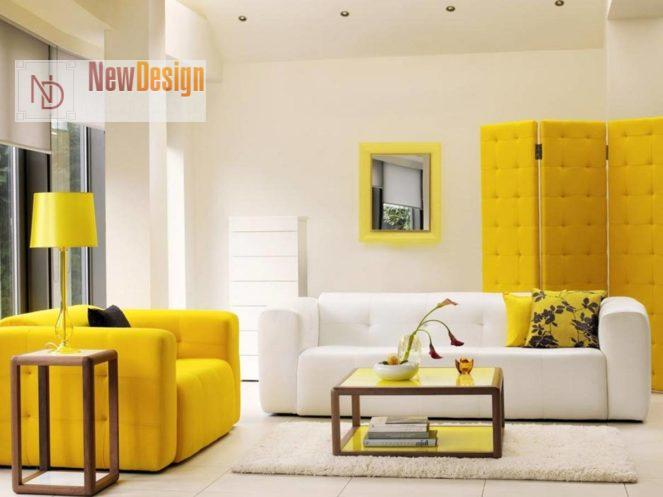 Психологическое воздействие желтого цвета в интерьере - фото 1