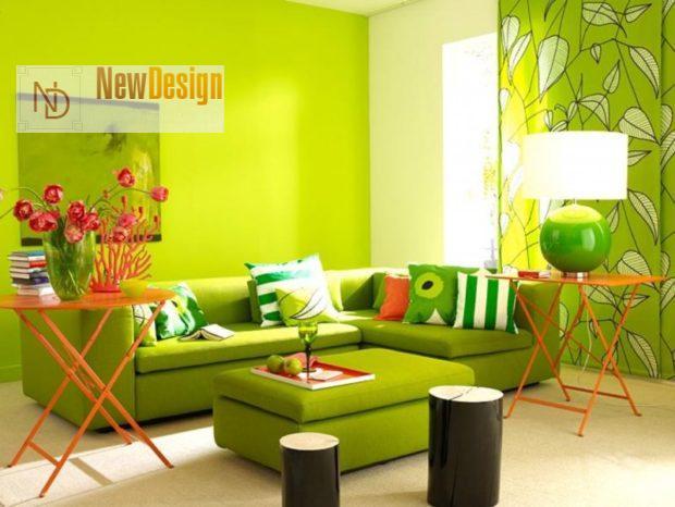 Психологическое воздействие зеленого цвета в интерьере - фото 1