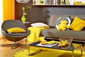 желтый цвет в интерьере - фото 22