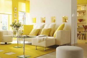 желтый цвет в интерьере - фото 24