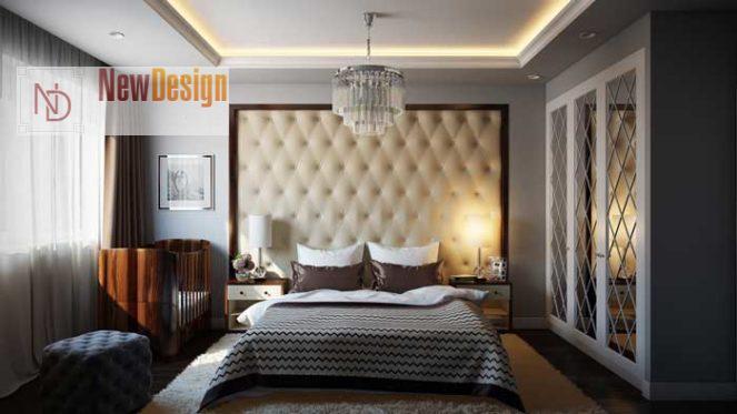 Дизайн спальни в серых тонах - фото 15