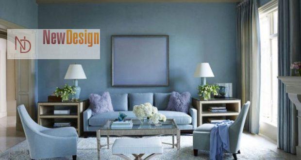 Психологическое воздействие голубого цвета в интерьере - фото 1