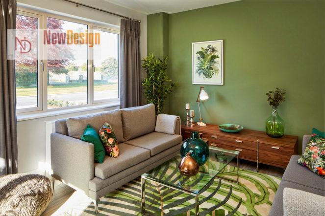 Психологическое воздействие оливкового цвета в интерьере - фото 1