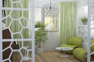 оливковый цвет в интерьере - фото 27
