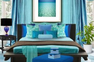 голубой цвет в интерьере - фото 23