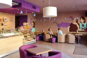 фиолетовый цвет в интерьере - фото 26